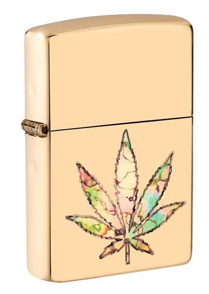 Bilde av Zippo - Pot Leaf Fusion - Lighter