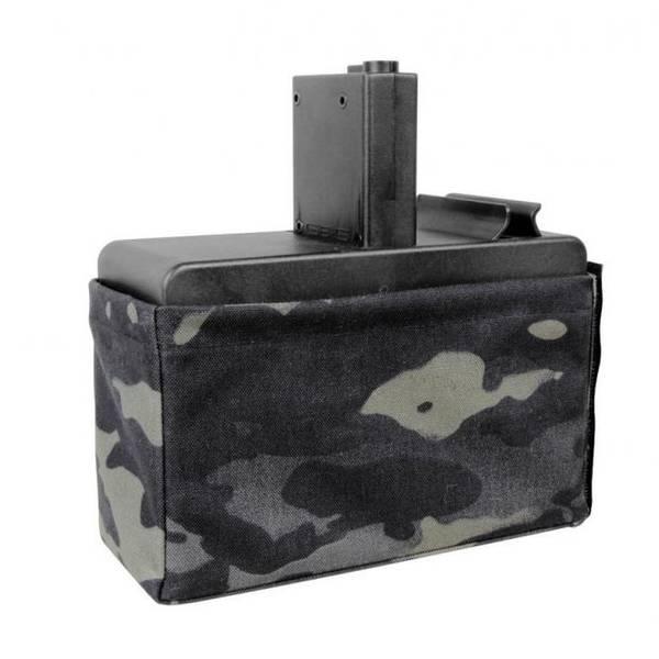 Bilde av Magasin - CM16 LMG Dark Camo BOX Magasin - 2500skudd