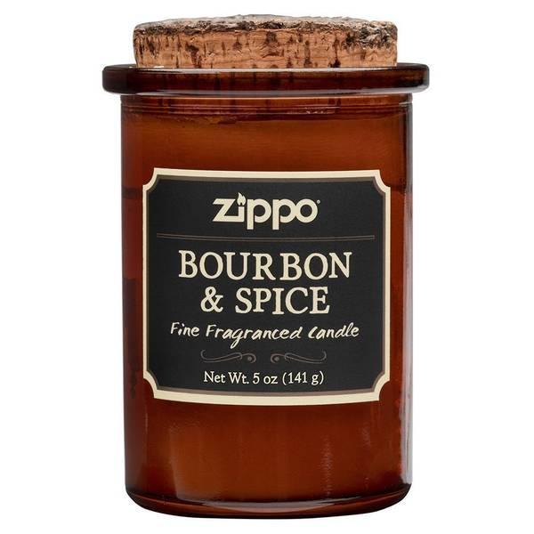 Bilde av Zippo - Spirit Candle Duftlys - Bourbon & Spice