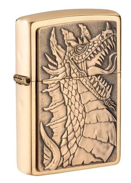 Bilde av Zippo - Drage Emblem - Lighter