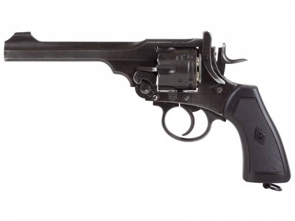 Bilde av Webley - MKVI Service Revolver - 4.5mm Pellets - Sort
