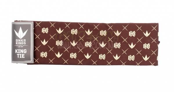 Bilde av Bunker Kings King Tie - Crown Pattern
