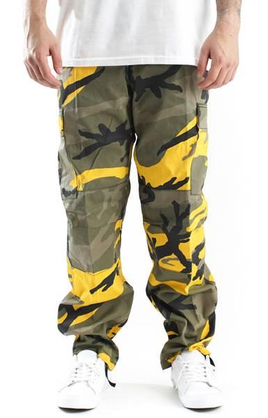 Bilde av Stinger Yellow Camo BDU Bukse