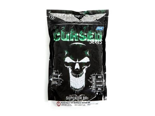 Bilde av ASG Cursed 0.25g Softgunkuler - 4000stk