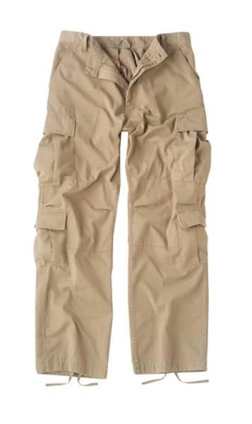 Bilde av Vintage Khaki Paratrooper Bukse