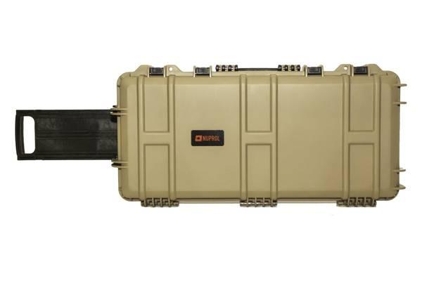 Bilde av Nuprol - Medium Hard Case med Hjul PnP(SMG) - Tan