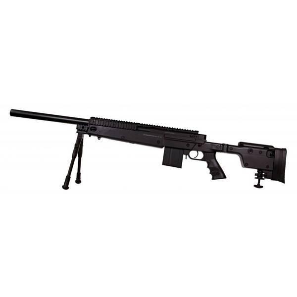 Bilde av Swiss Arms - SAS 06 Softgun Sniper med Tofot - Fjærdrevet