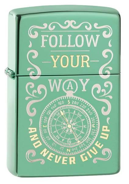 Bilde av Zippo - Follow Your Way - Lighter