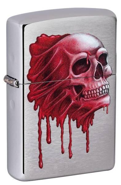 Bilde av Zippo - Blood Skull Design- Lighter
