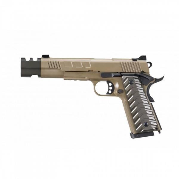 Bilde av KJW - KP-16 Co2 Drevet Softgunpistol med Blowback - TAN