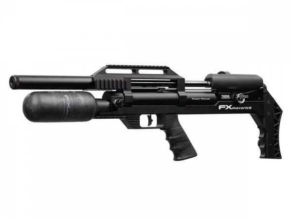 Bilde av FX Maverick Compact PCP Luftgevær Svart - 6.35mm (Regpliktig)