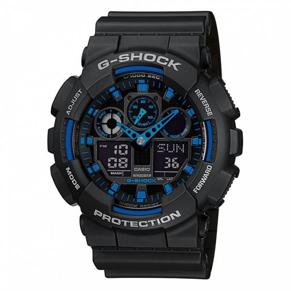 Bilde av Casio - G-Shock Klokke - Svart/Blå