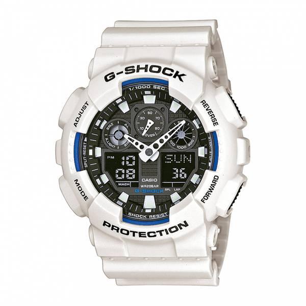 Bilde av Casio - G-Shock Klokke- Basic - Hvit - GA-100B-7AER