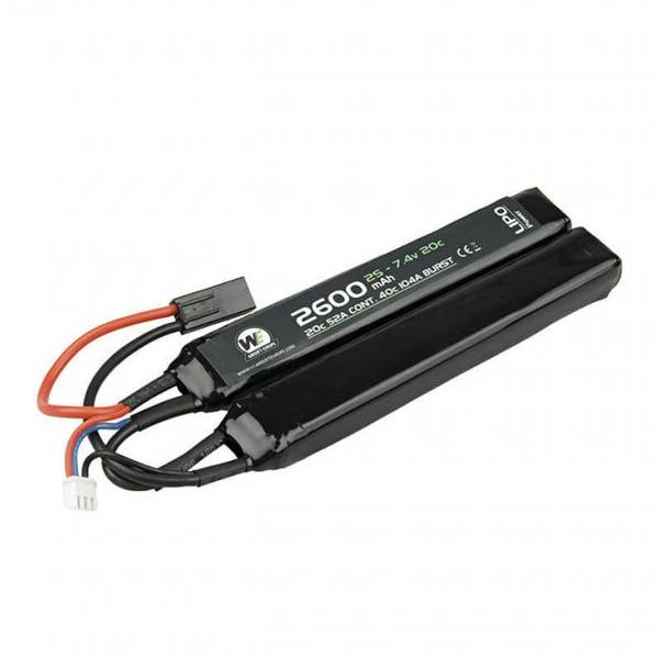 Bilde av NP Batteri Li-Po 7.4V 20C - 2600mAh - Nunchuch Type
