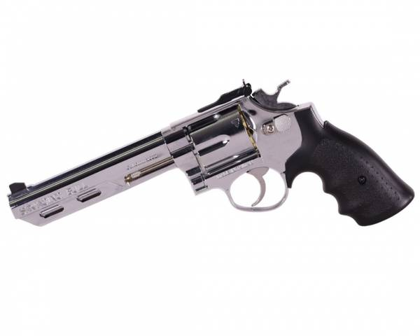 Bilde av HFC - Savaging Bull Gassdrevet Softgun Revolver - Sølv