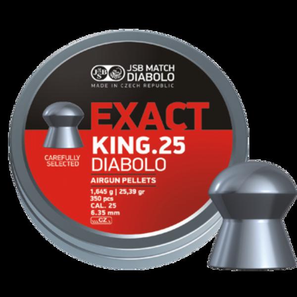 Bilde av JSB Exact King - 6.35mm - 350stk