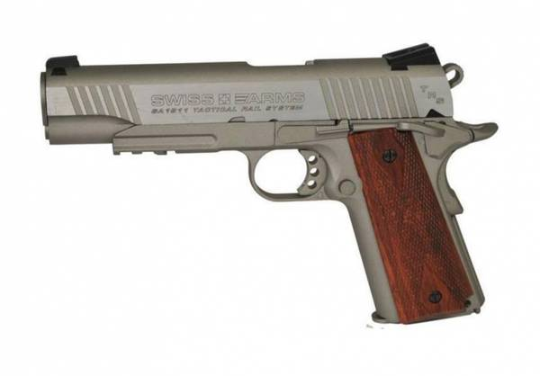 Bilde av Swiss Arms - 1911 MRP Luftpistol med Blowback - 4.5mm BB