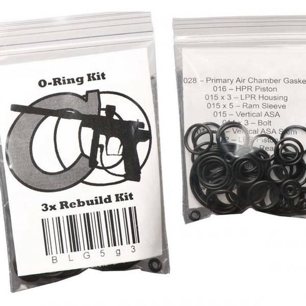 Bilde av O-ring kit for ETEK3 (x3)