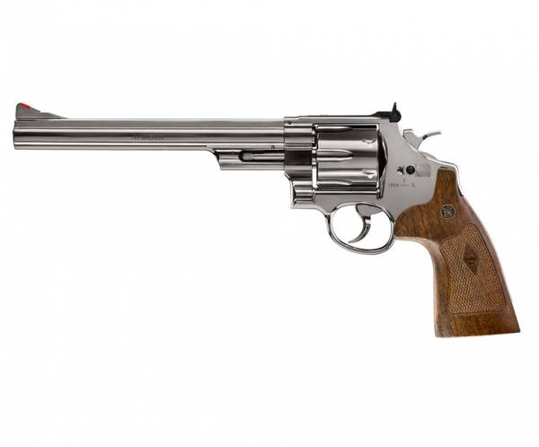 Bilde av Smith & Wesson - M29 8 CO2 Drevet Softgun Revolver - Blå Polert