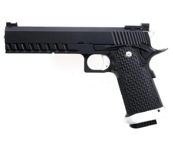 Bilde av KJW - Hi-Capa 5.1 Gassdrevet Softgun Pistol med Blowback- Full M