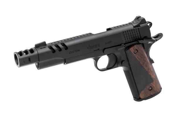 Bilde av Vorsk - CS Defender Pro Gassdrevet Softgunpistol - Børstat ALU