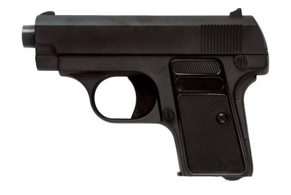 Bilde av Galaxy - G1 (Colt 25) Fjærdrevet Softgun Pistol - Full Metall
