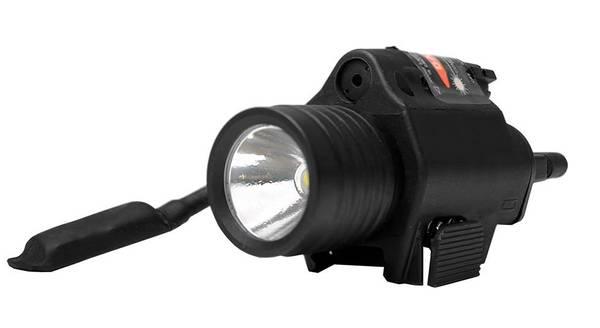 Bilde av LED Lykt m/laser - 340 lumens Weaver - 21mm