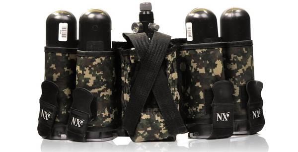 Bilde av NXe 4+1 backpack for luftsystem - Camo