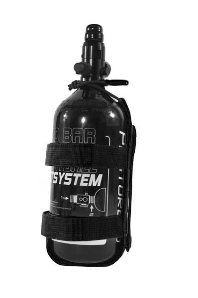 Bilde av 43G Molle flaskeholder, stor - Svart